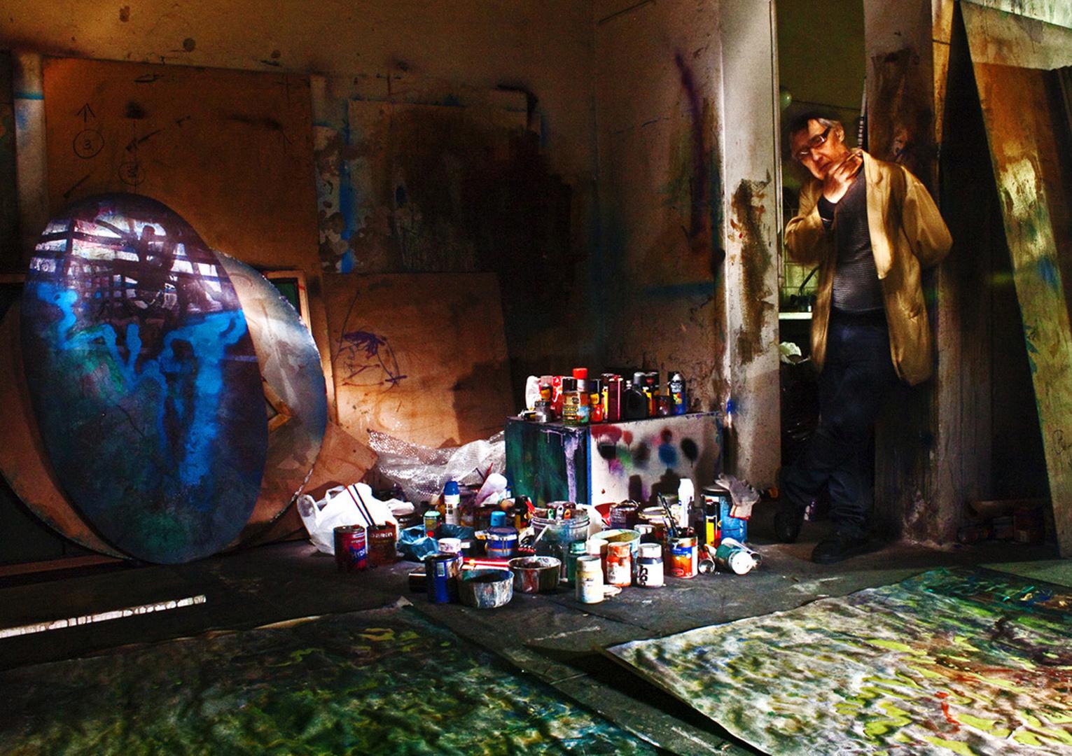 El pintor que piensa ó que piensa el pintor ?