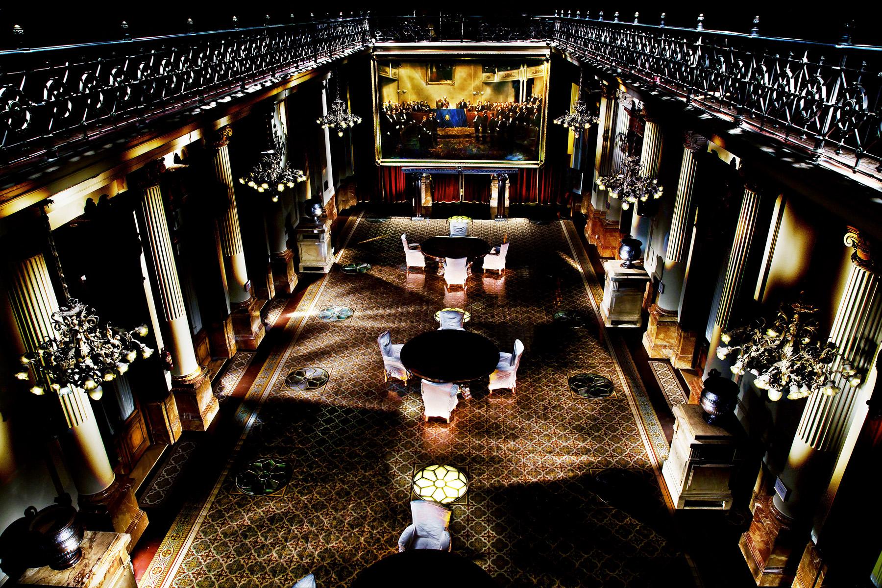 Salón de los pasos perdidos – Palacio del Congreso