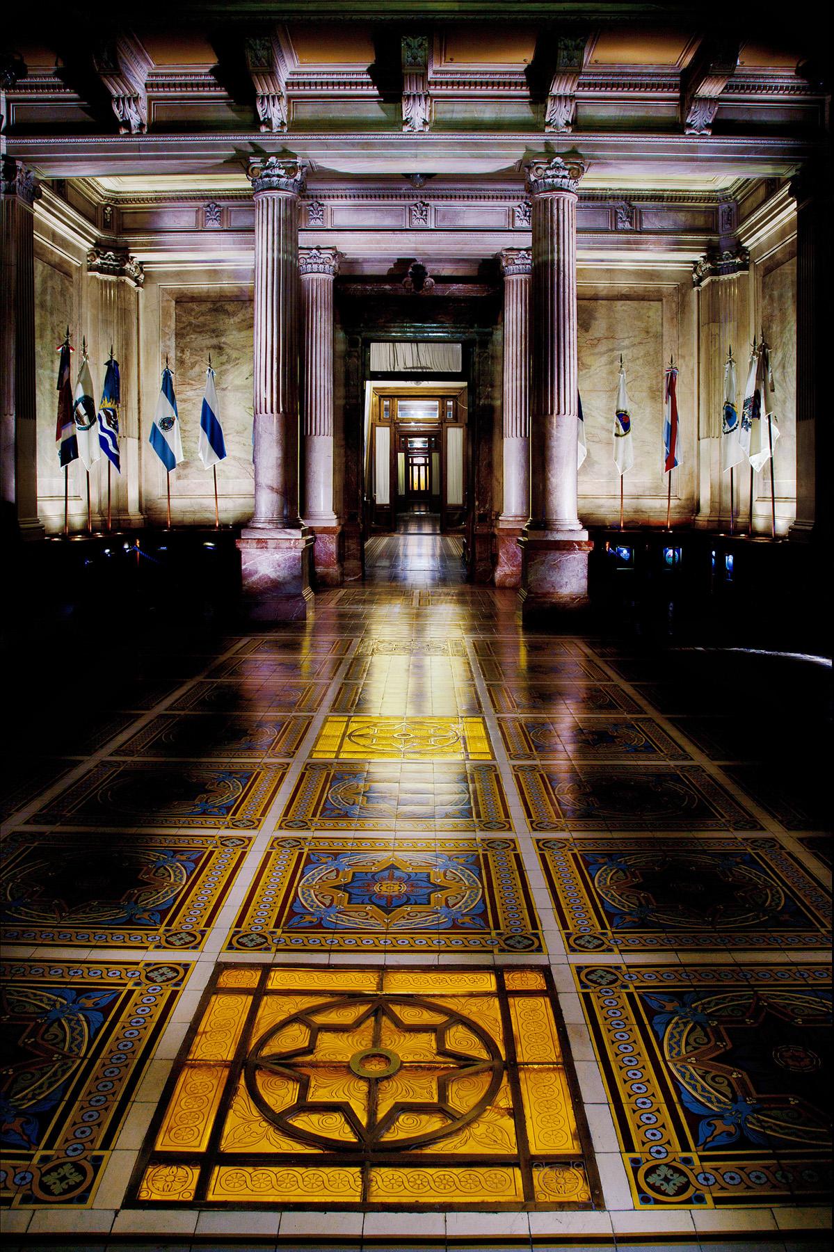 Salón de las provincias – Paalacio del Congreso